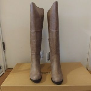 NWT 🌼 Lucky Brand Knee High Boots